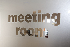 Oaktree Court Meeting Room Glass Image
