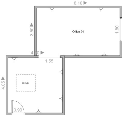 Service Office Space 24 Wirral Floorplan Image